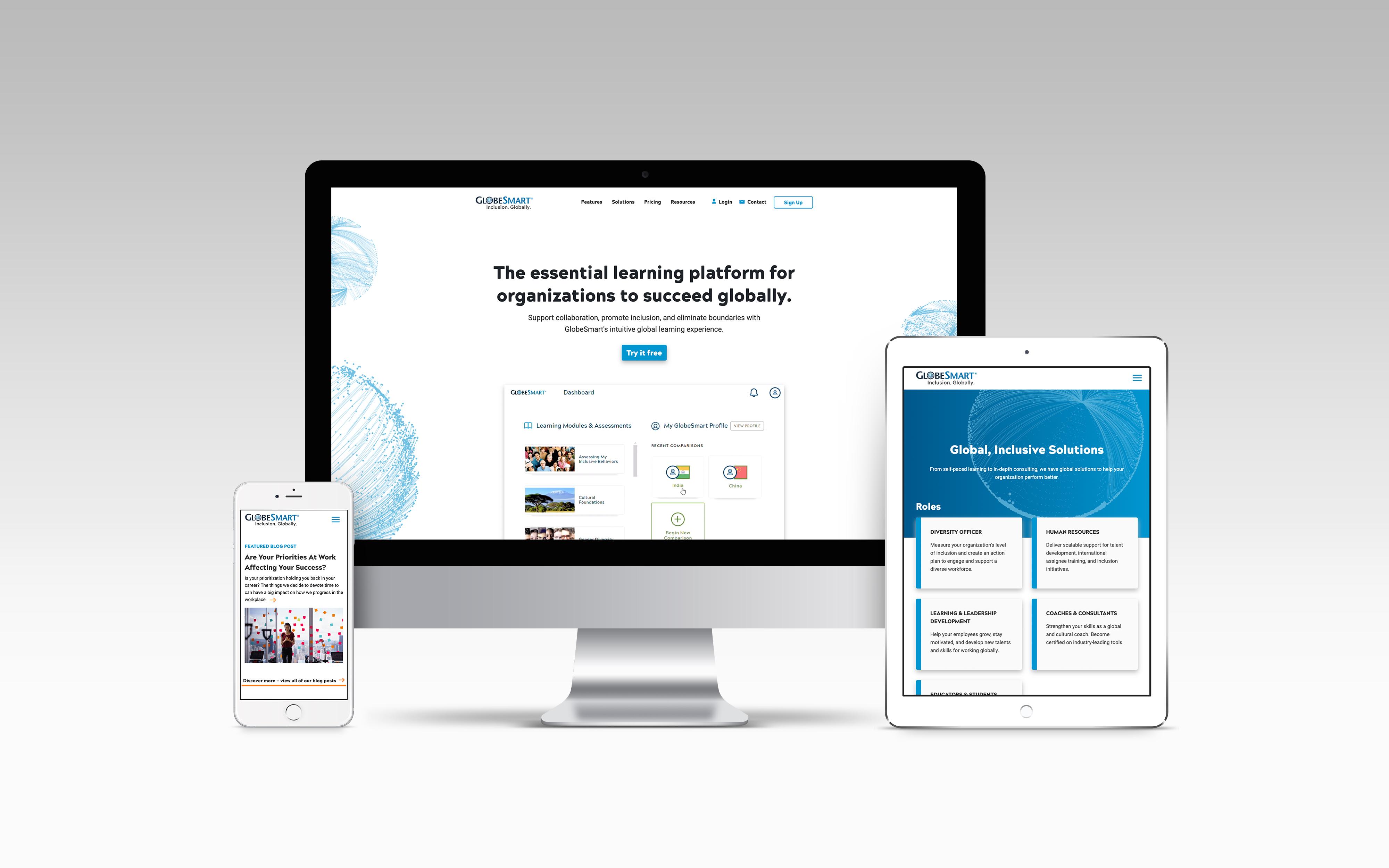 GlobeSmart Website Redesign