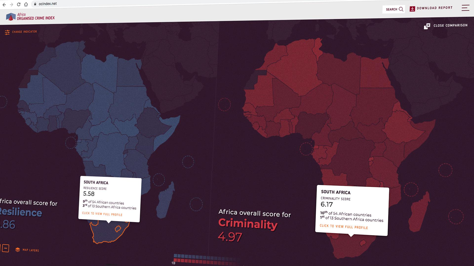 Organized Crime Index - Africa