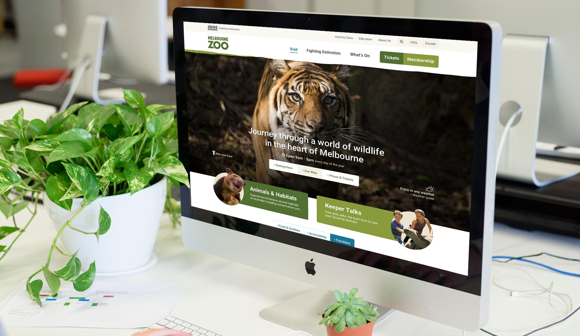 Zoos Victoria Website