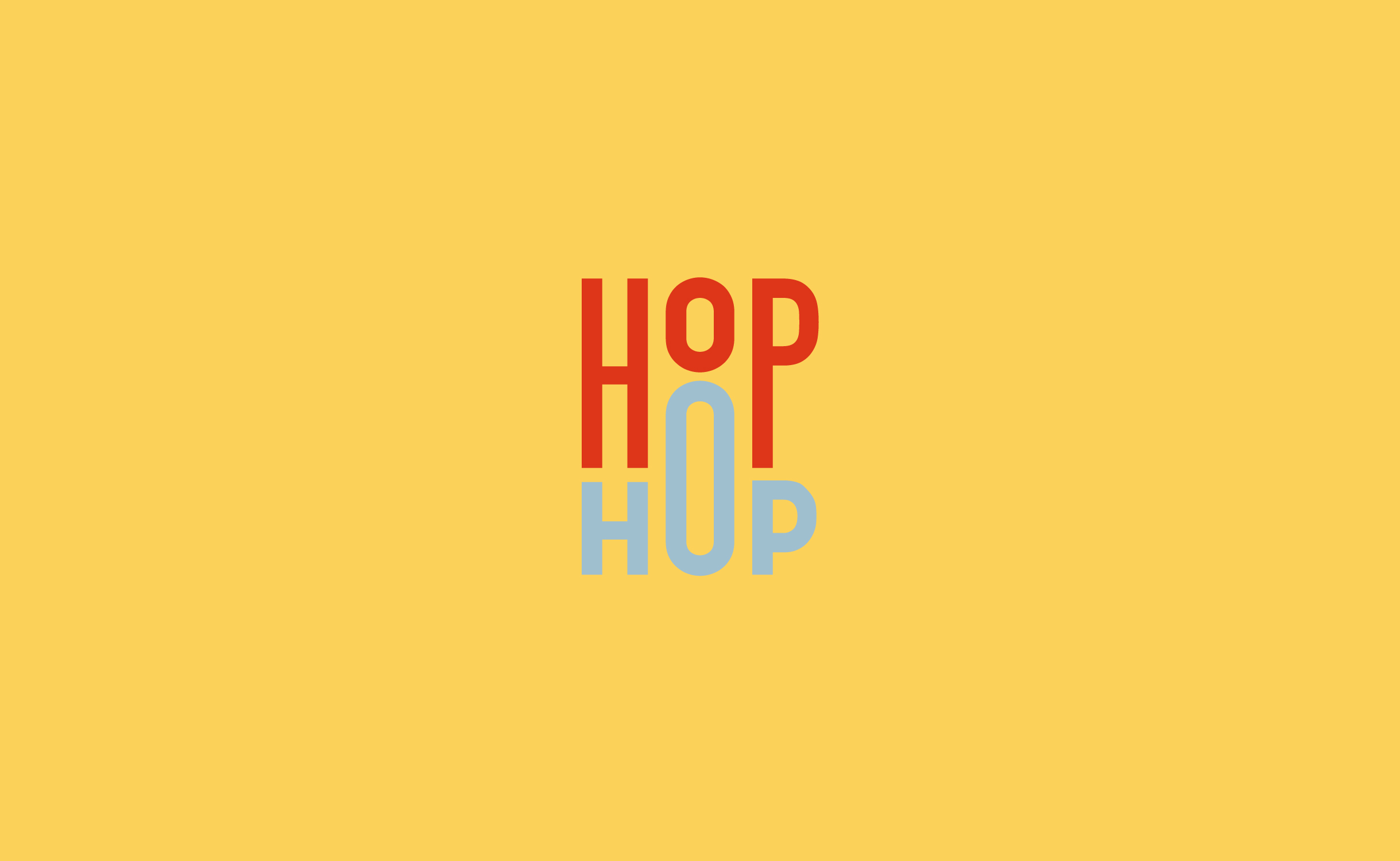 HOP HOP Rebranding