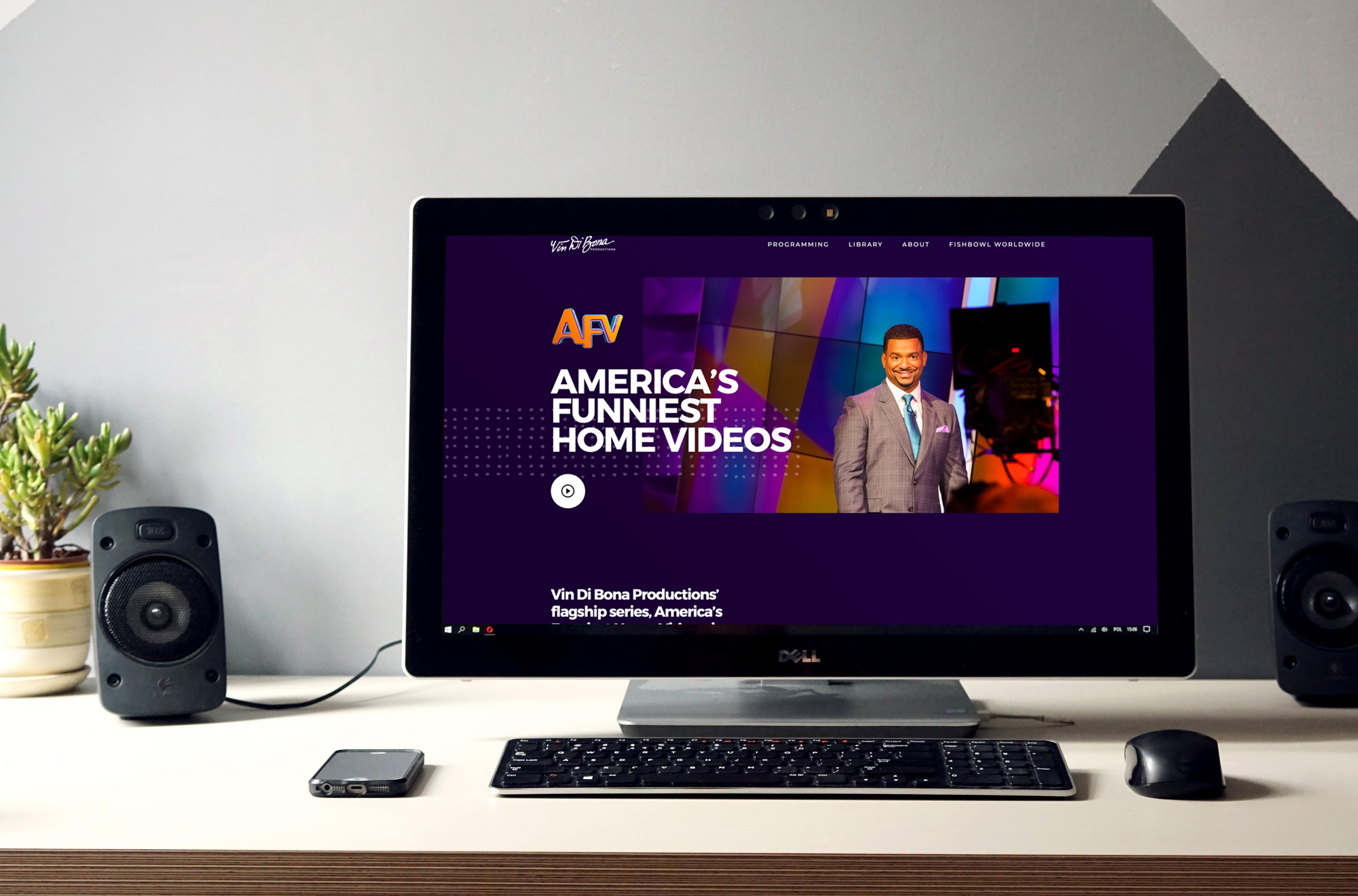 Vin Di Bona Productions Website Redesign
