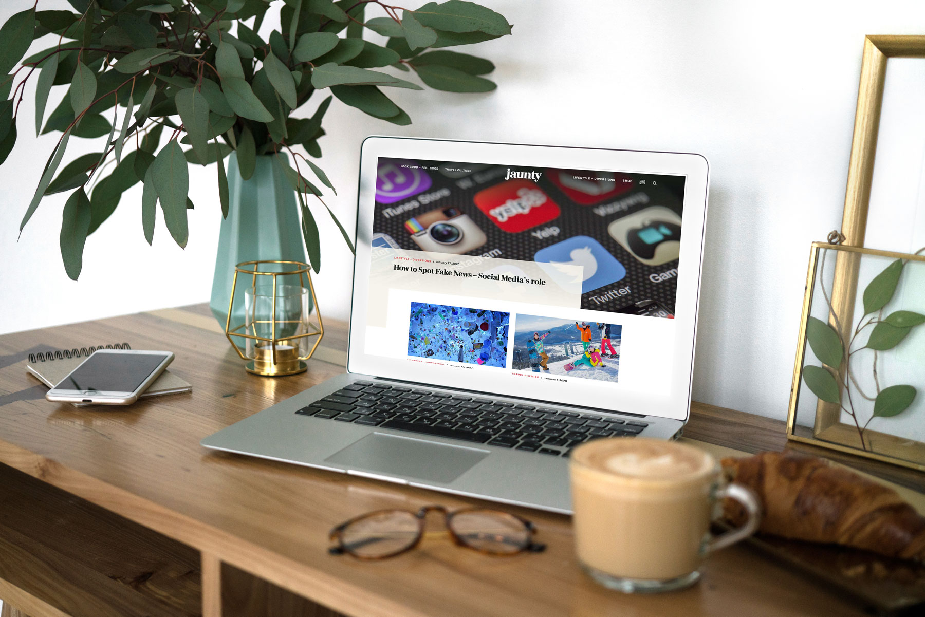 Jaunty Website Design & Developer