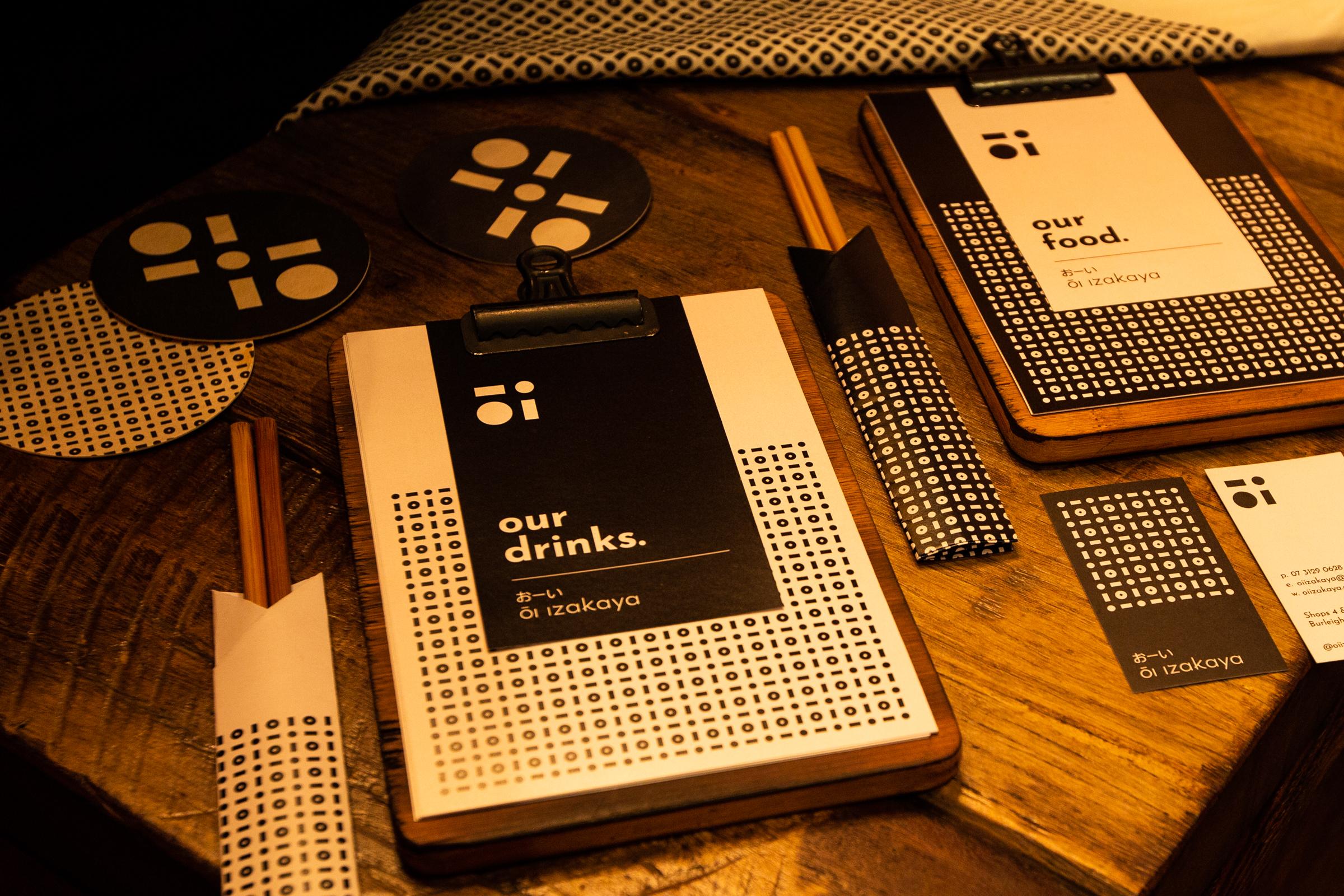 OI Izakaya - Restaurant Brand Development