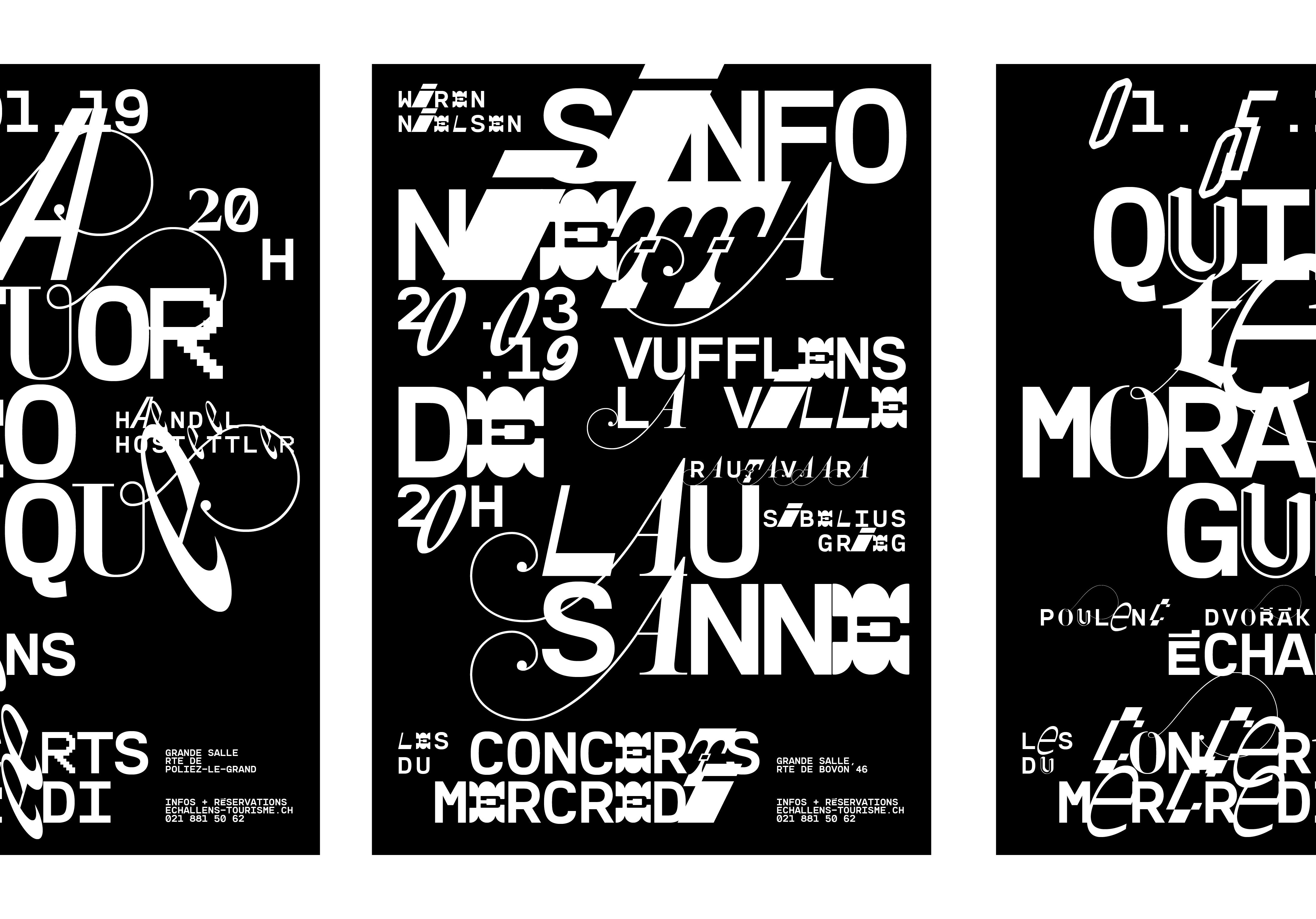 Les Concerts du mercredi 18-19