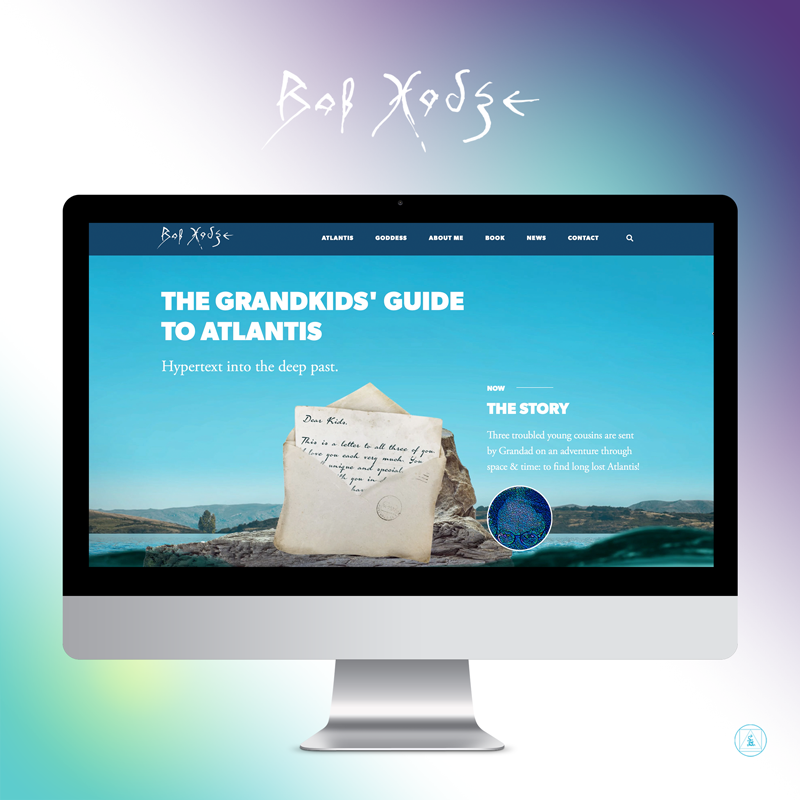 'The Grandkids' Guide to Atlantis' Website
