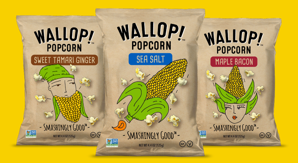 Wallop! Branding and Package Design