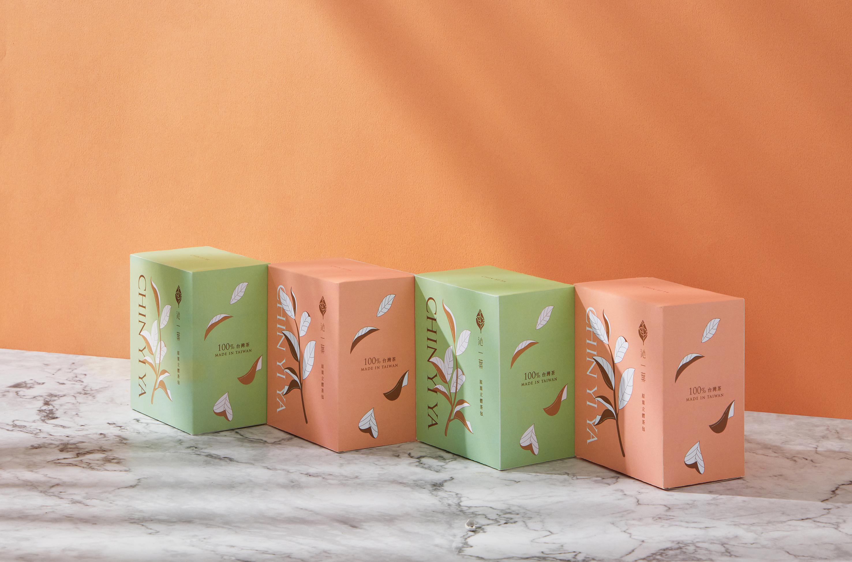 Chin Yi Ya Tea shop packaging