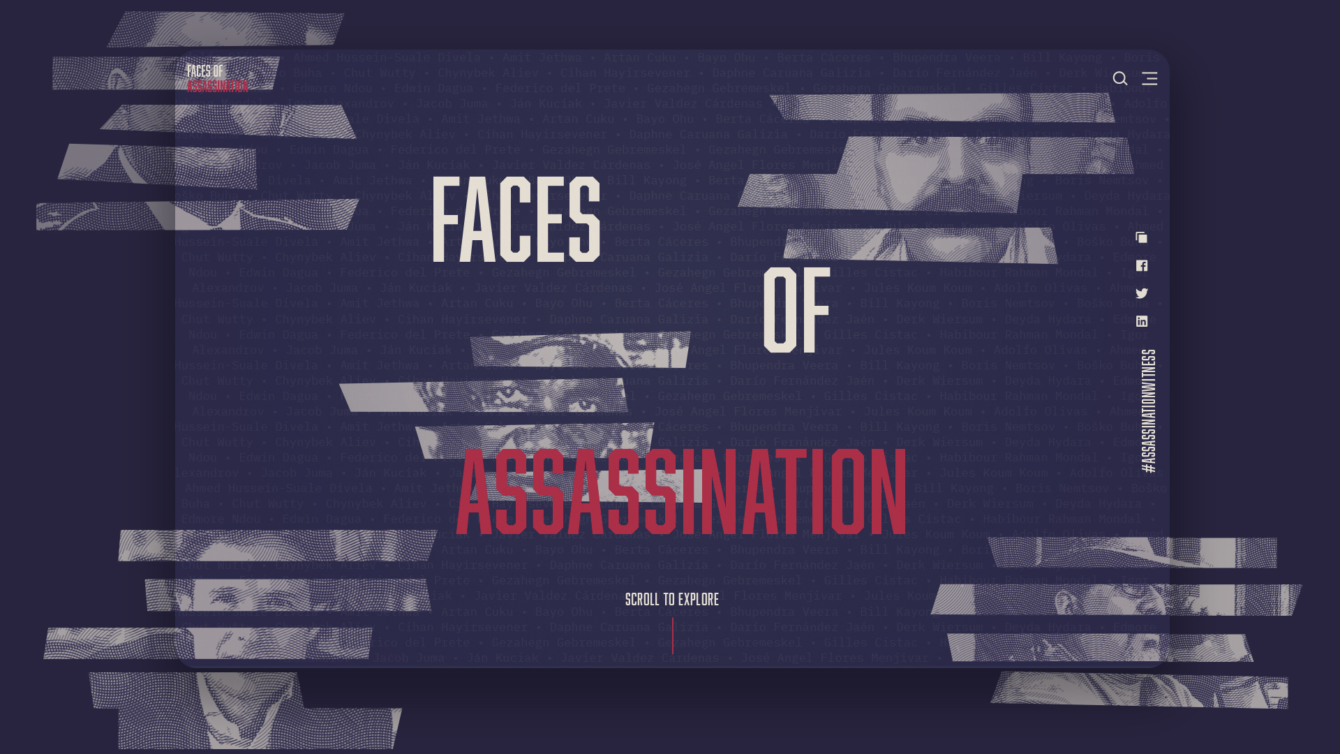 Faces of Assassination