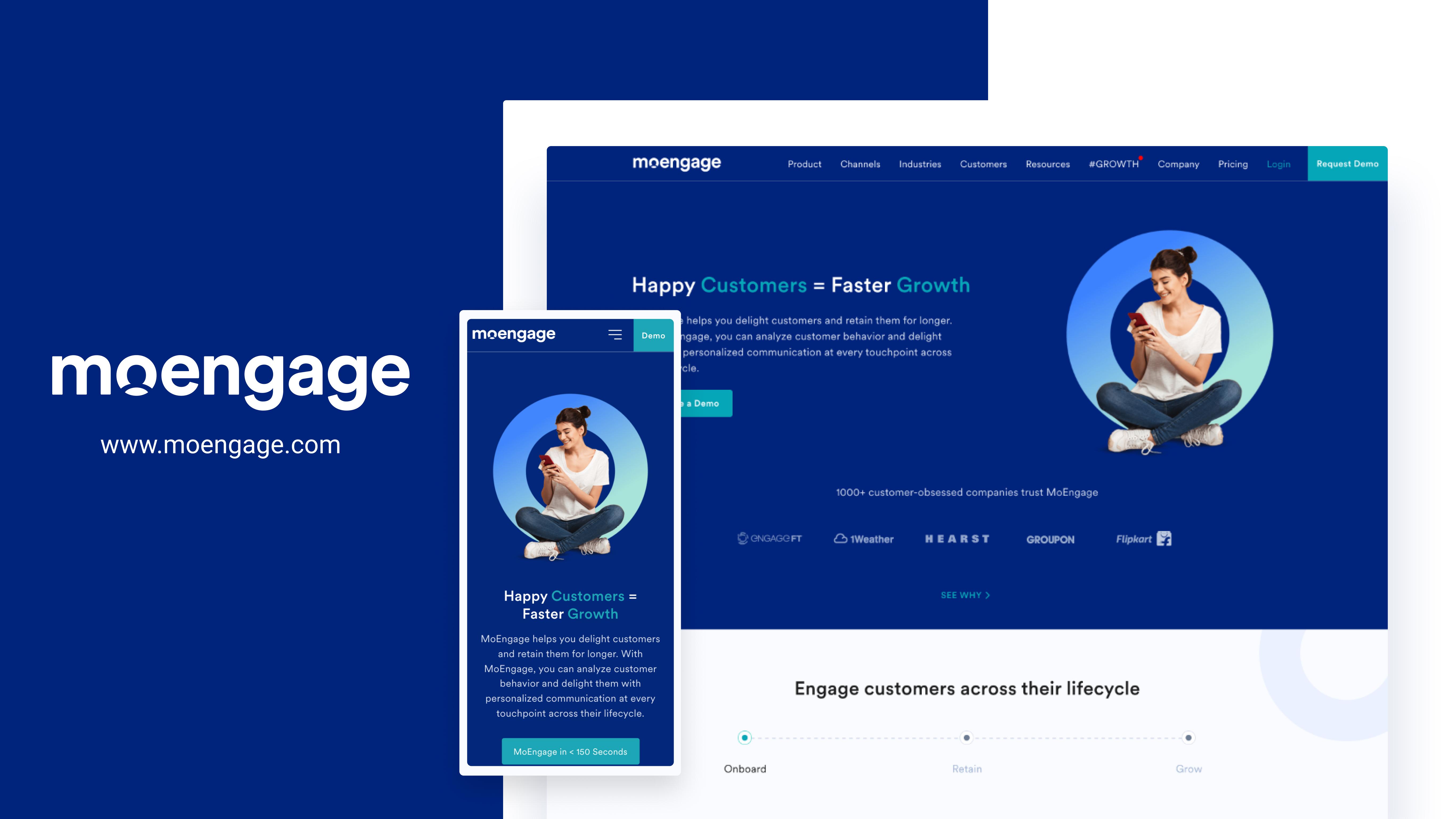 MoEngage Website Design