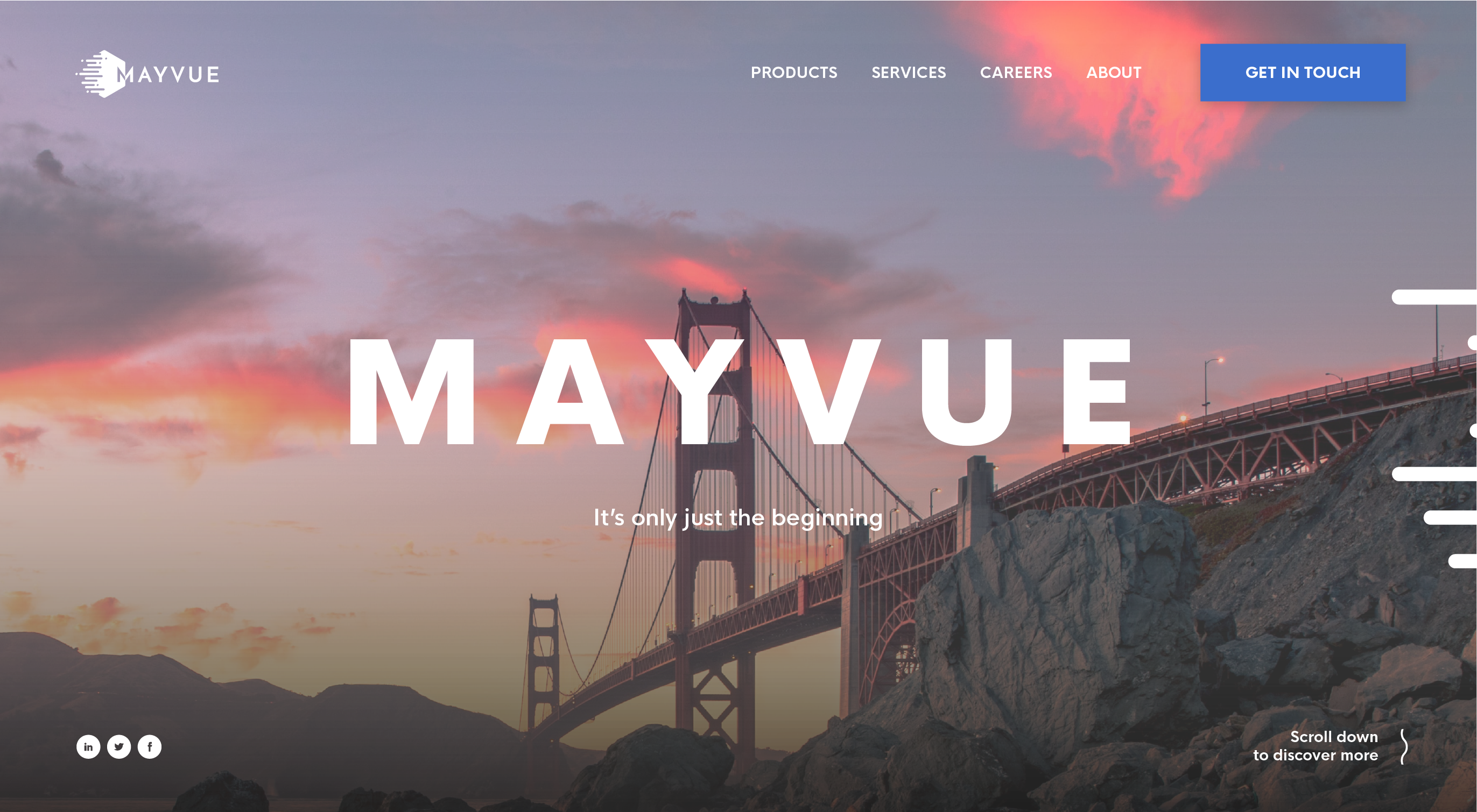 Mayvue Salutions Website