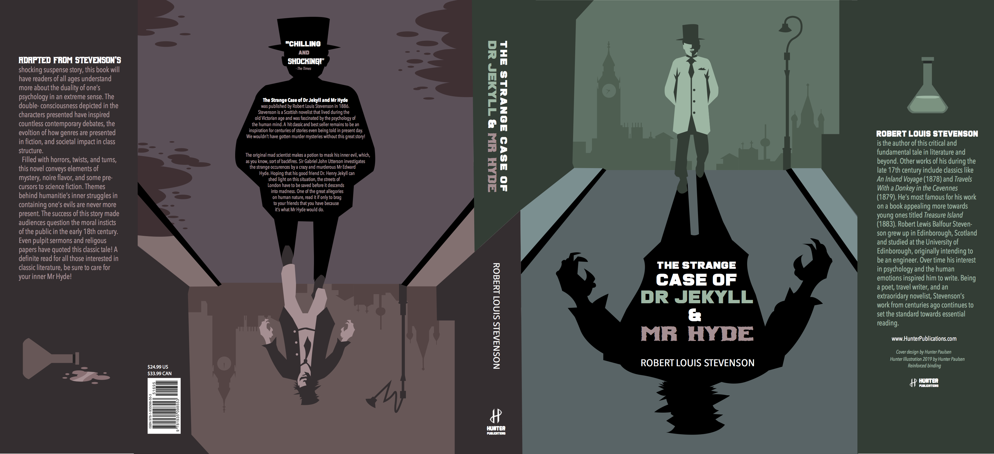 Book Cover - Jekyll and Hyde