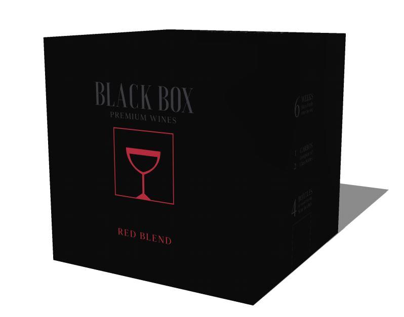 Black Box WInes Packaging