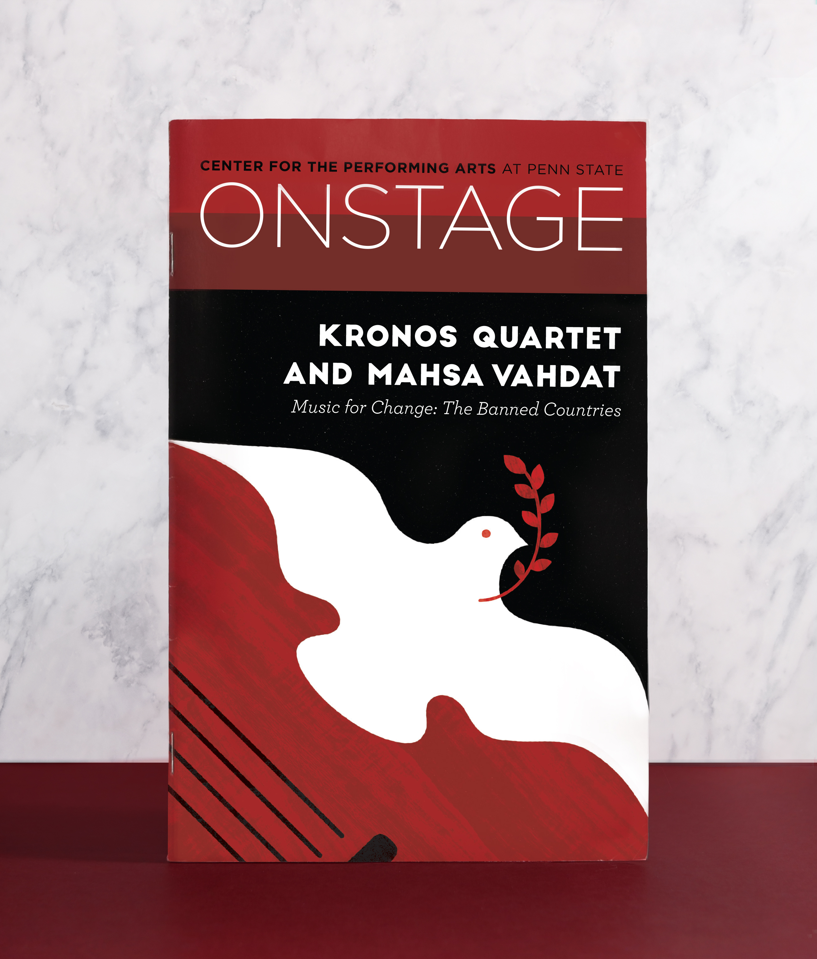 OnStage Cover Illustration - Music for Change