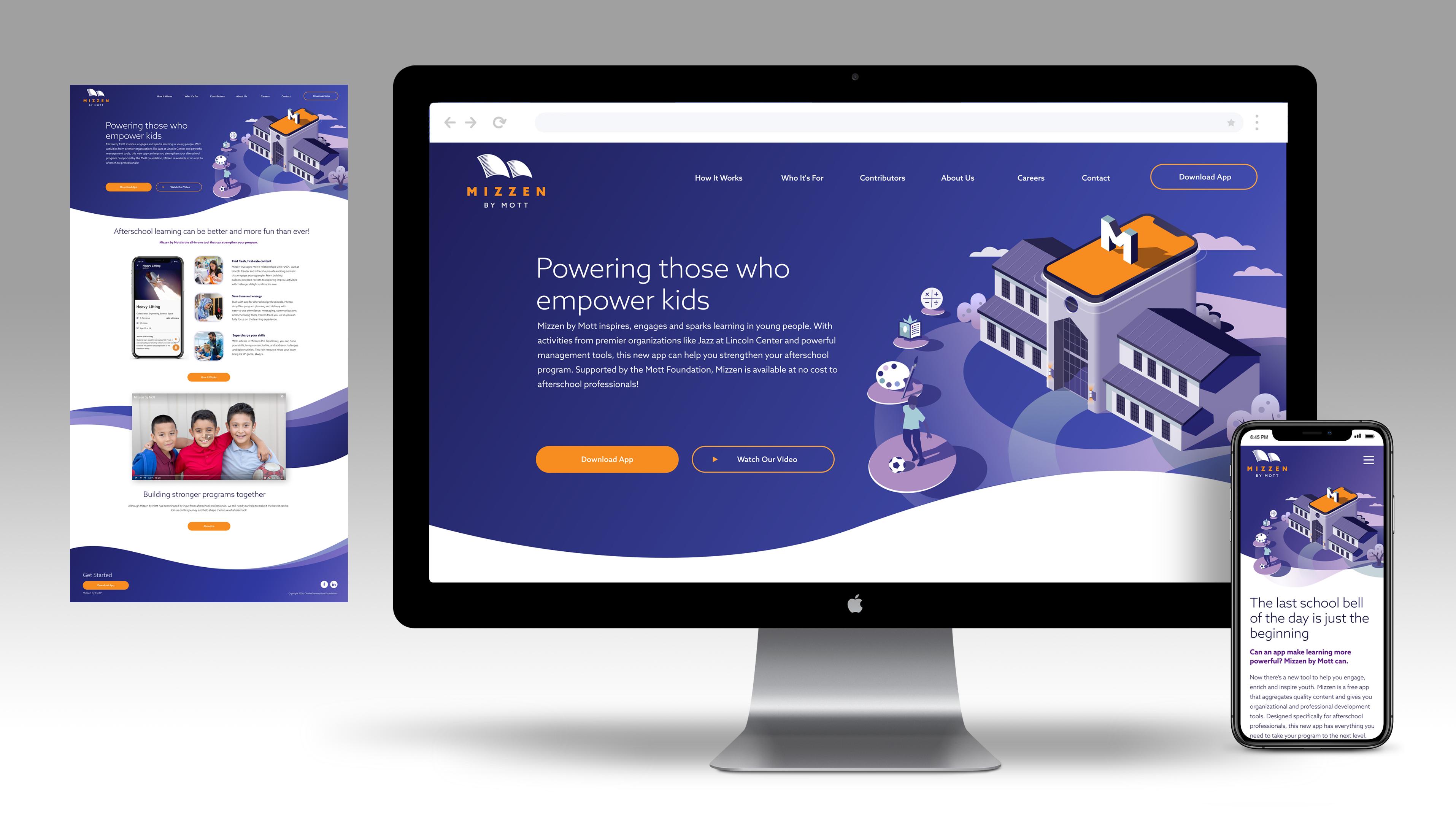 Mizzen Website Design