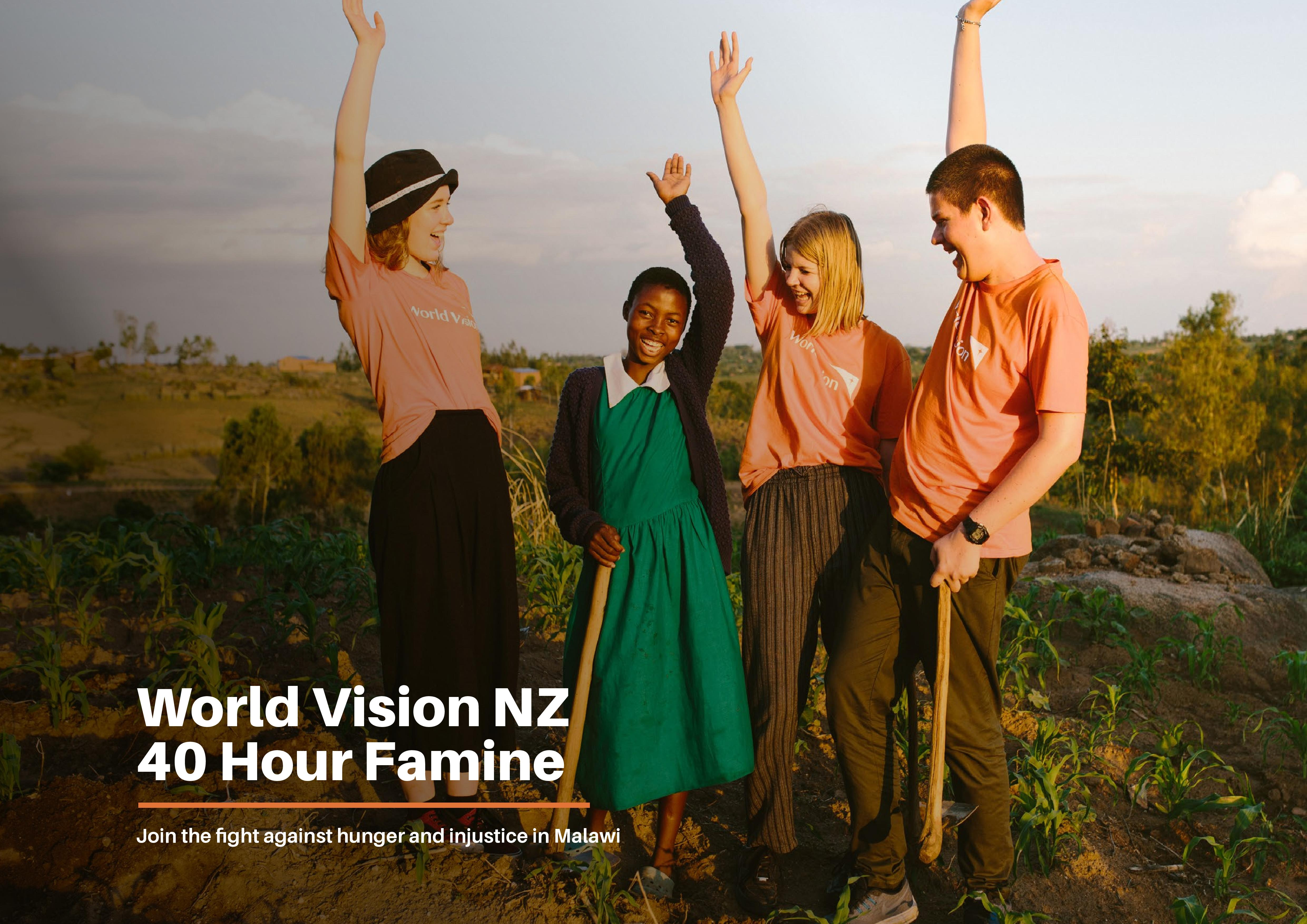 World Vision NZ Peer-to-Peer (P2P) Fundraising Platform