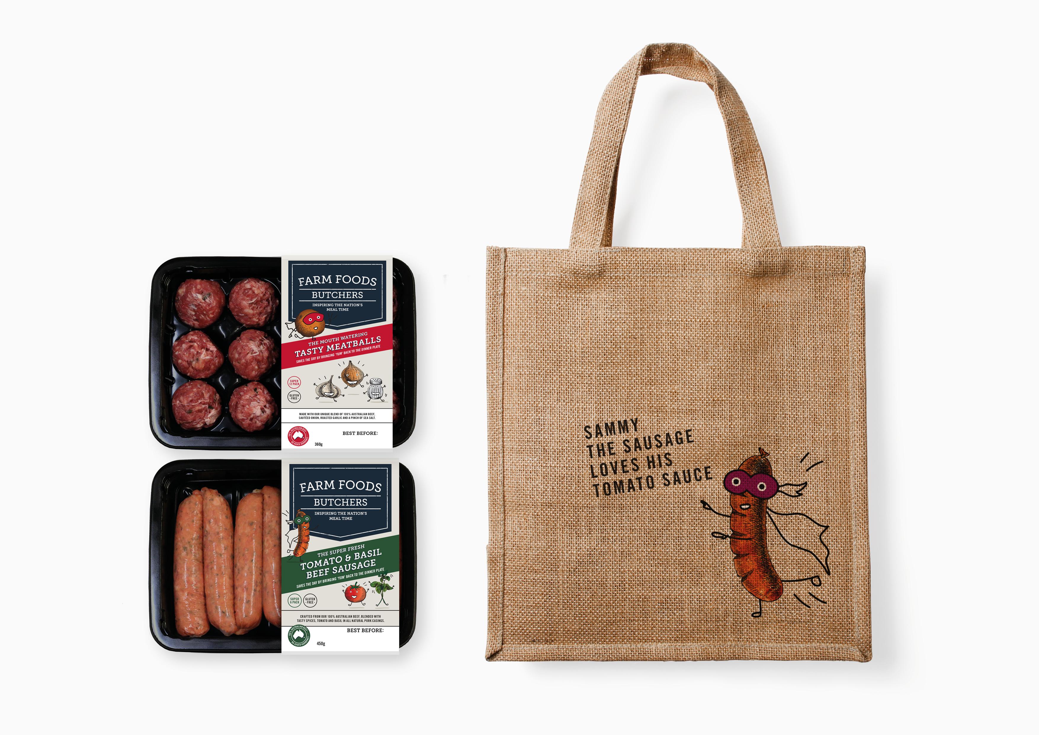 Farm Foods Rebrand