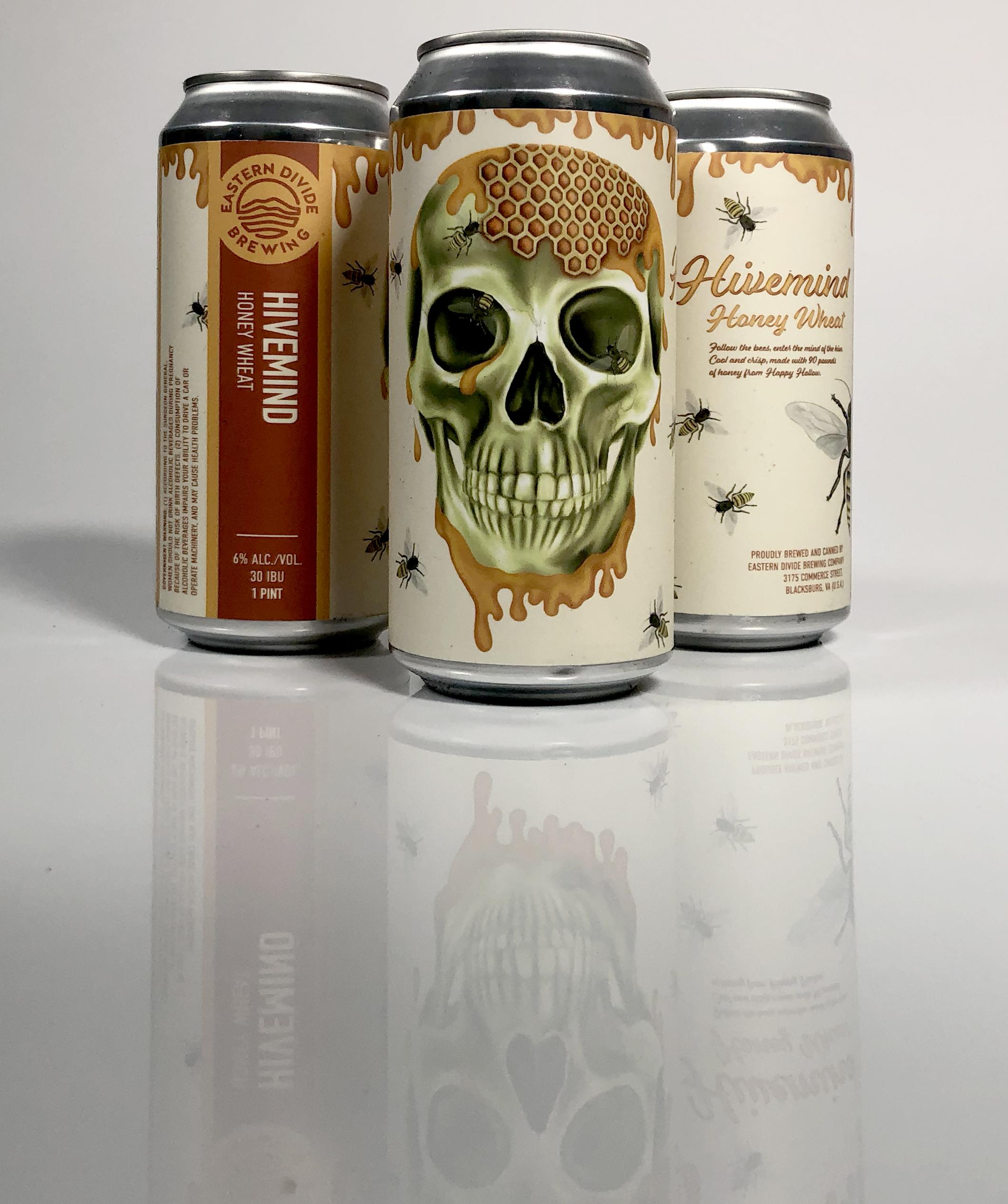Eastern Divide Brewing Company label design