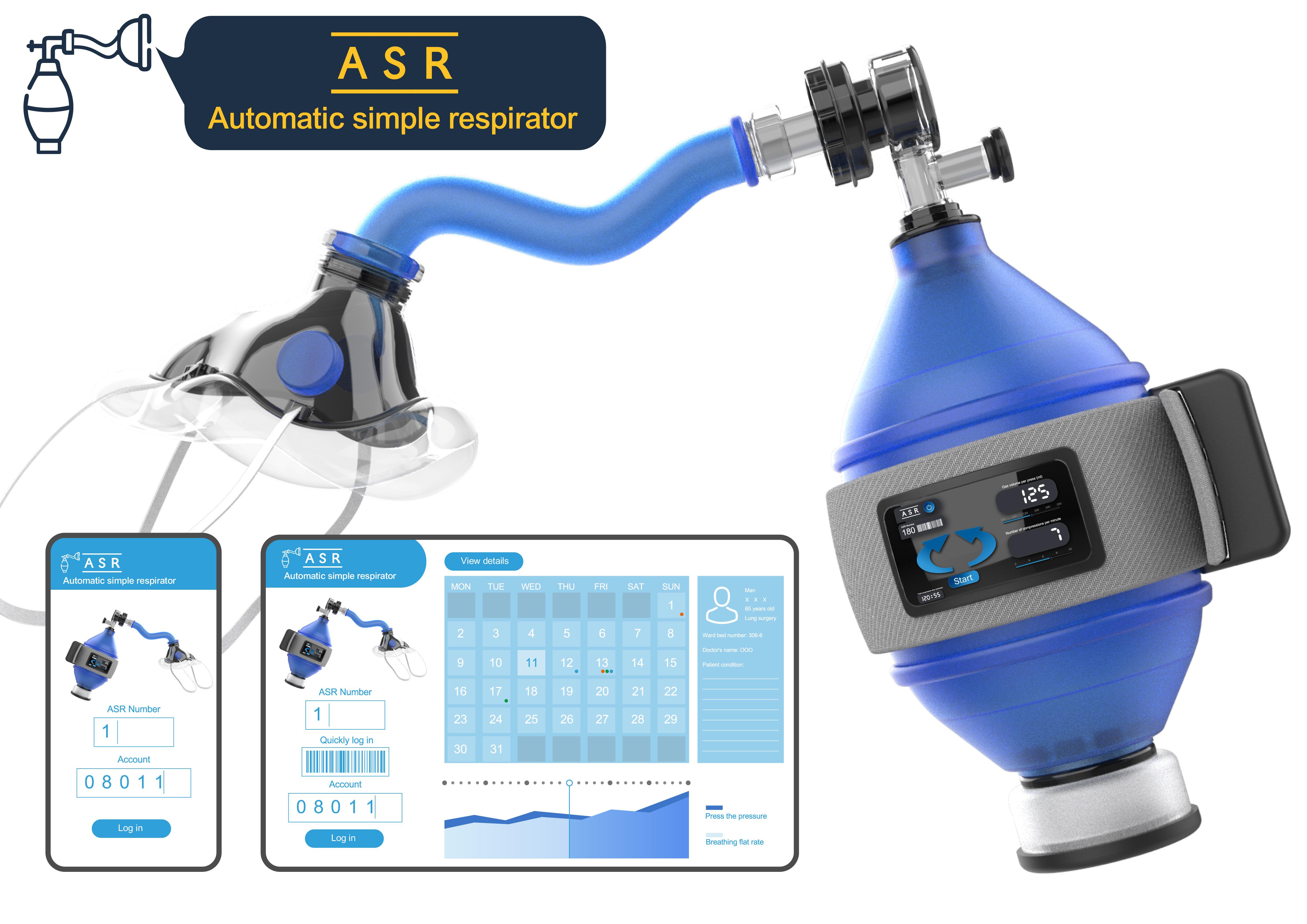 ASR-Automatic simple respirator