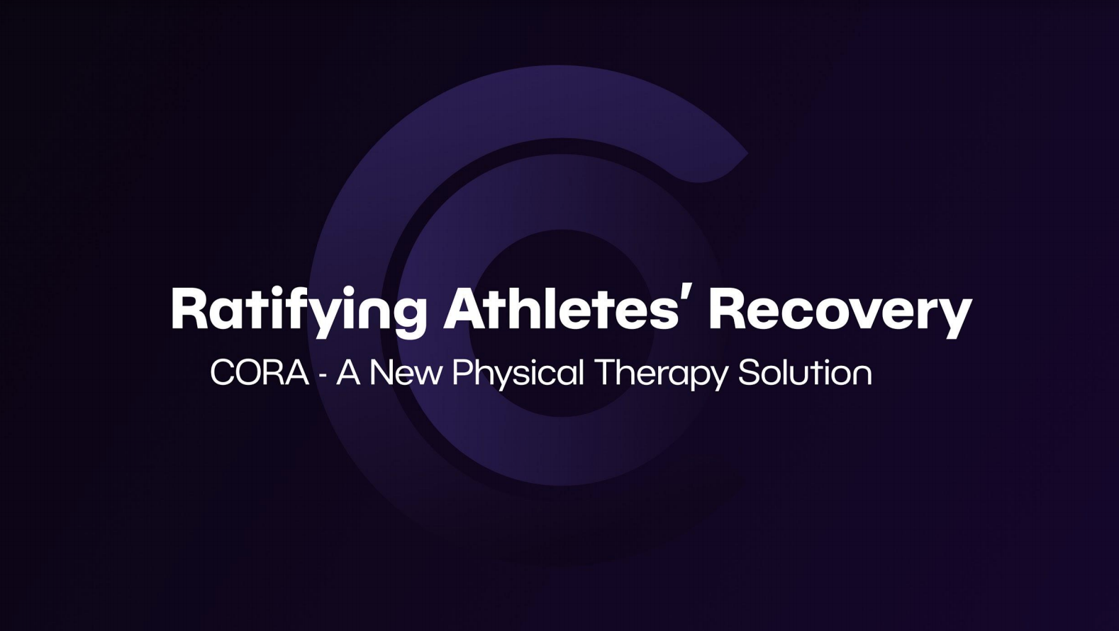 Cora: Ratifying Your Recovery