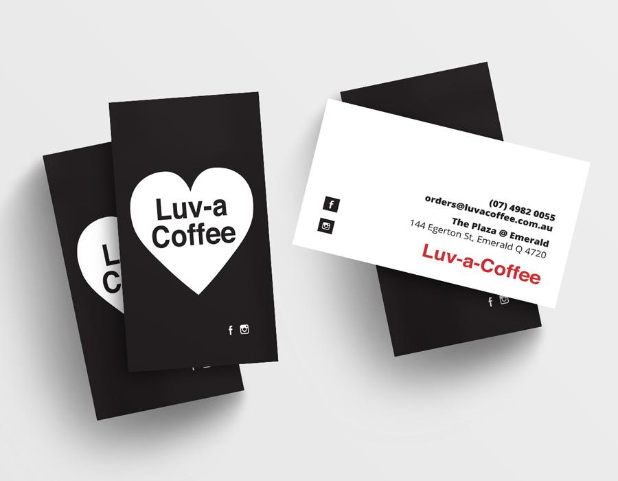 Luv A Coffee Branding