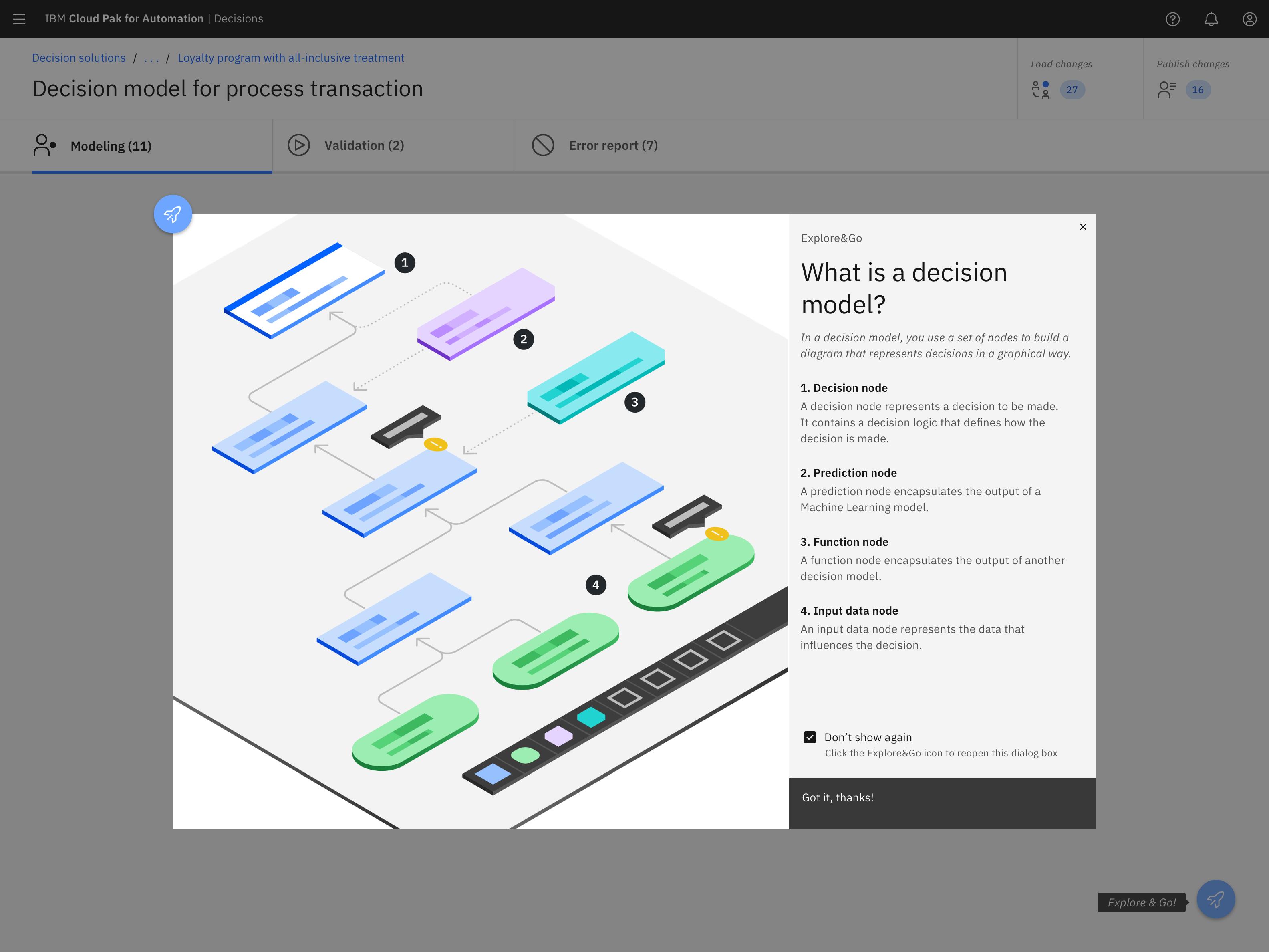 IBM Automation Decision Services