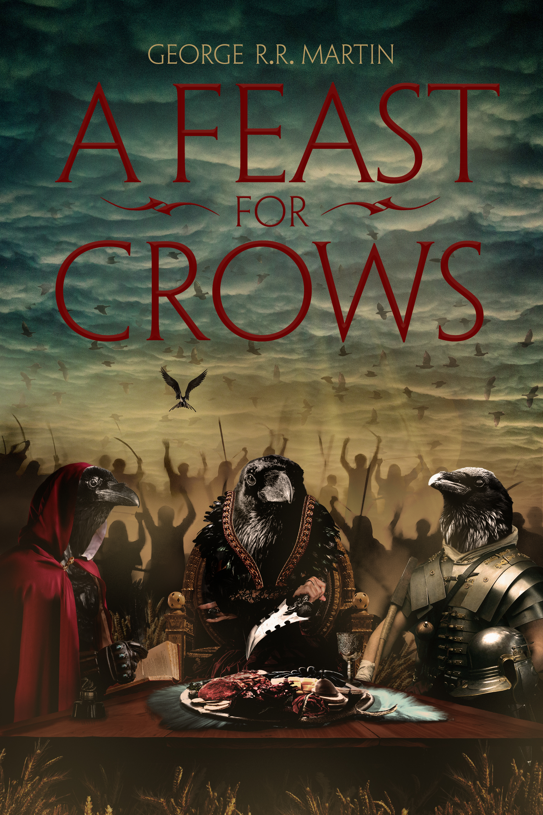 A Feast For Crows - Book Design