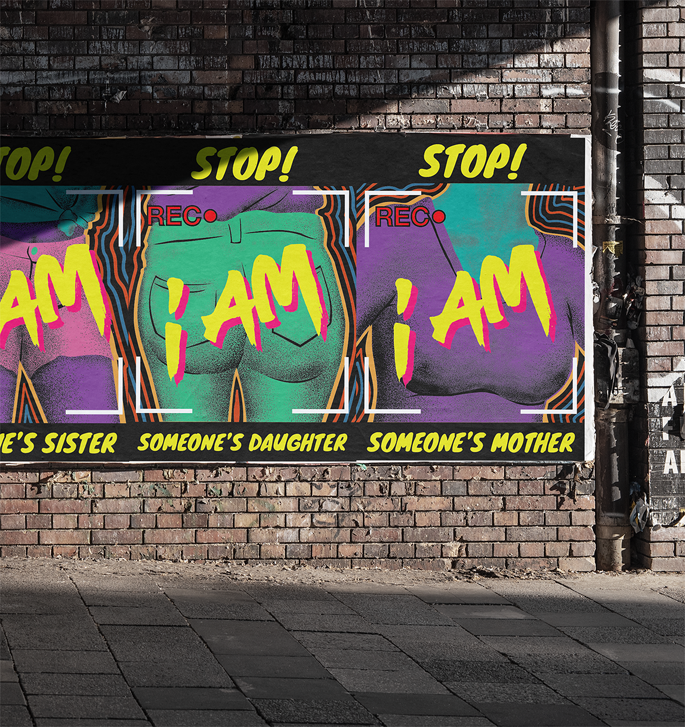 Stop! I AM - Women's Right Campaign