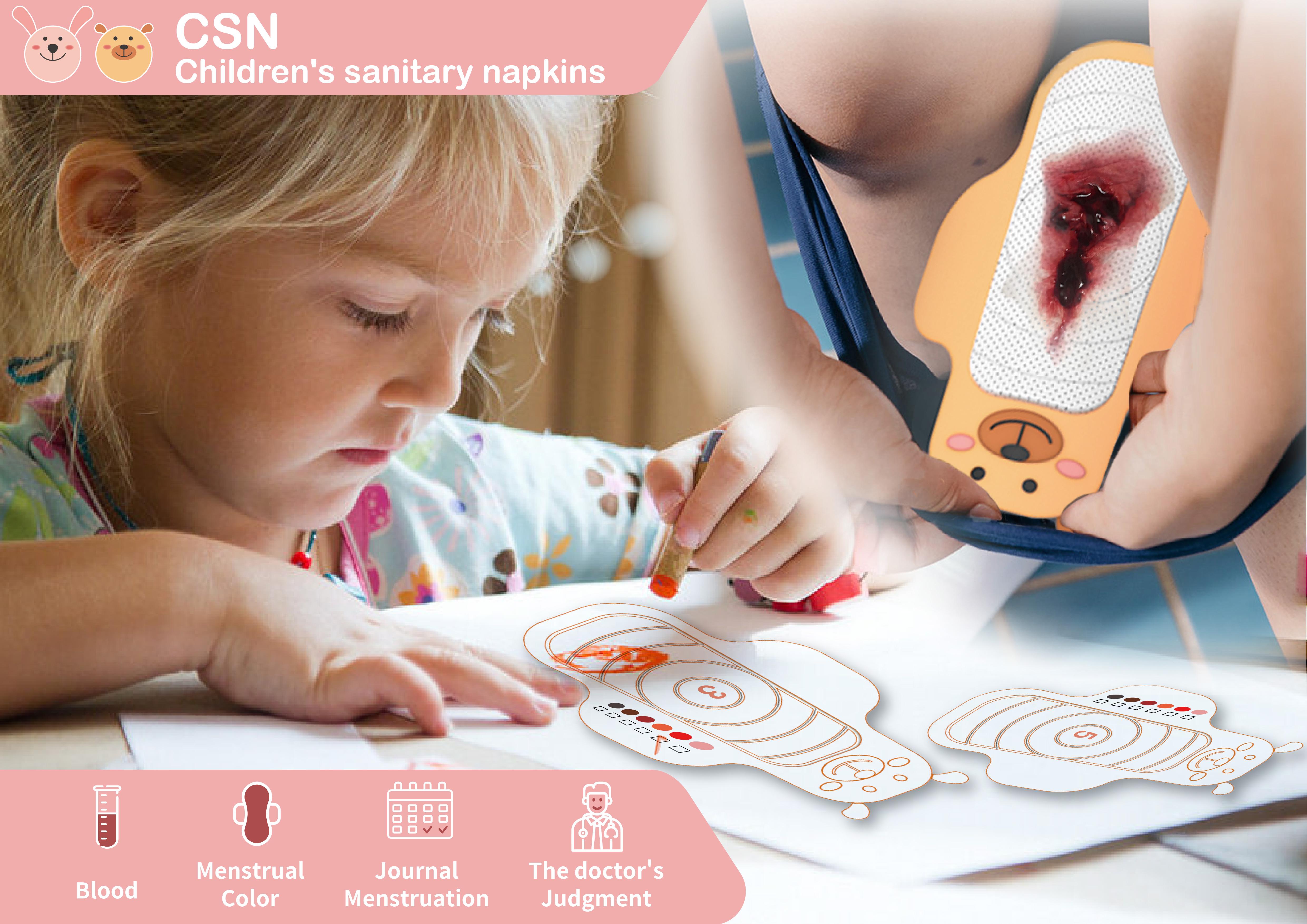 CSN-Children's sanitary napkins