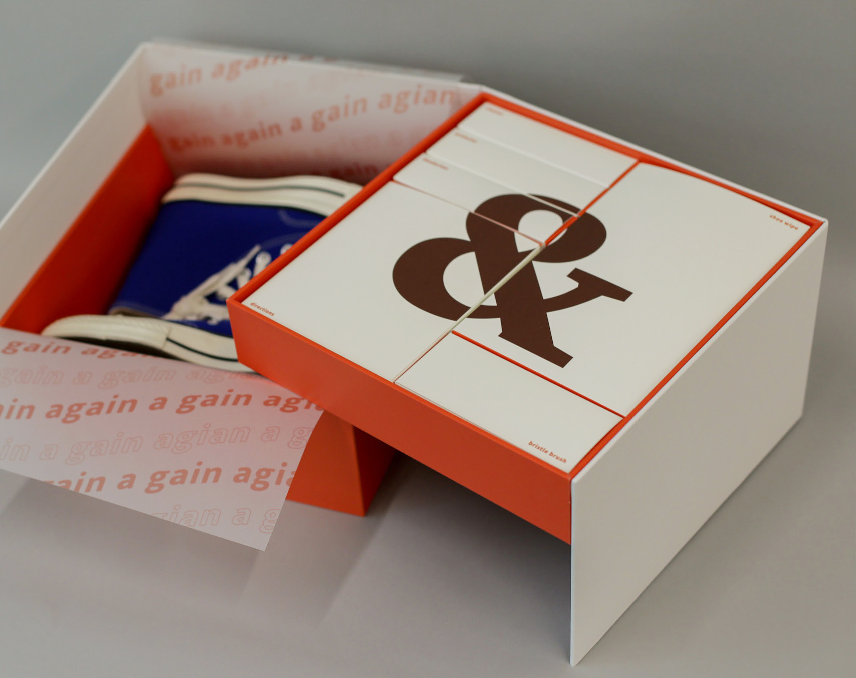Again Sneaker Care Limited Edition Packaging Design