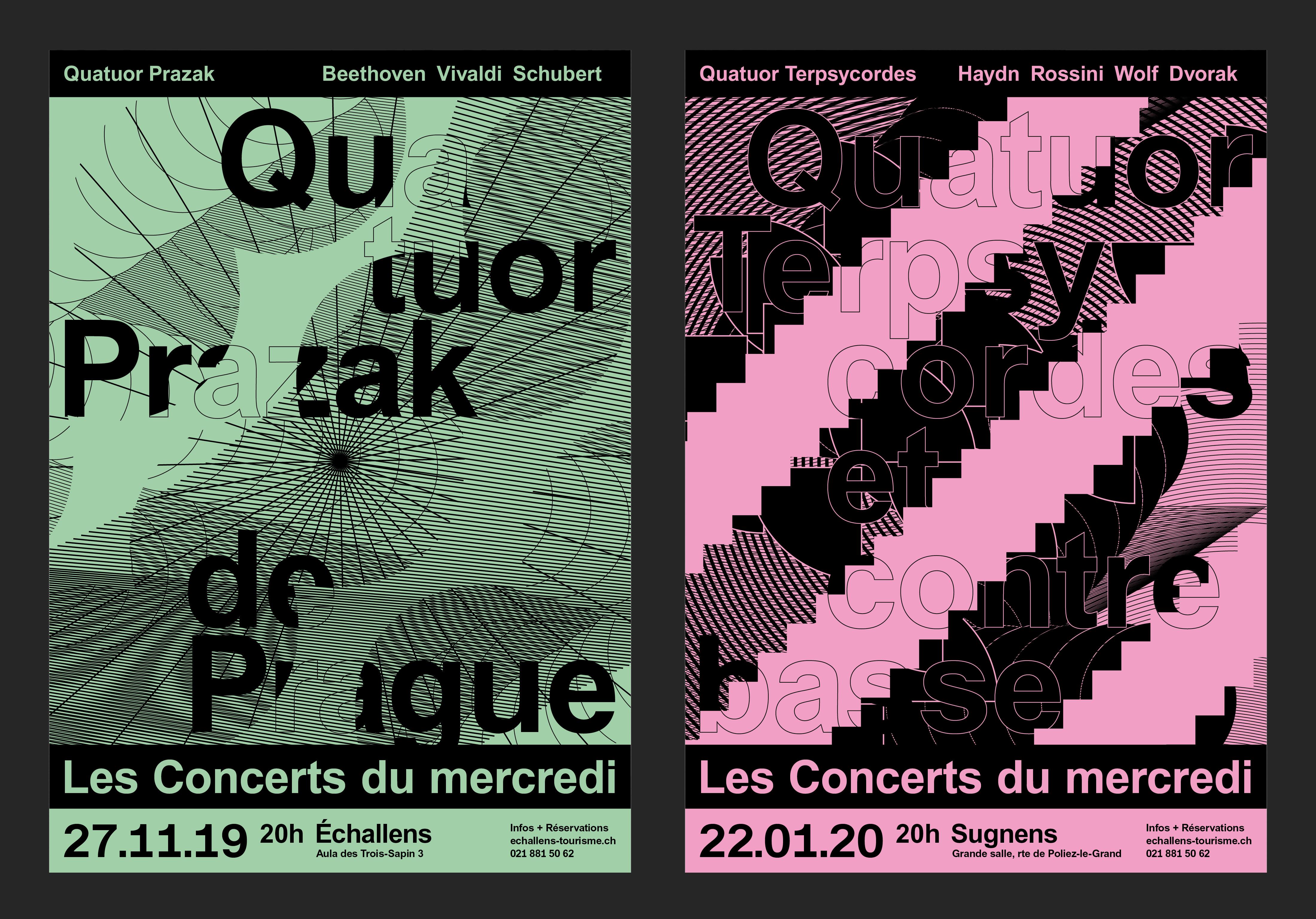Les Concerts du mercredi 19-20