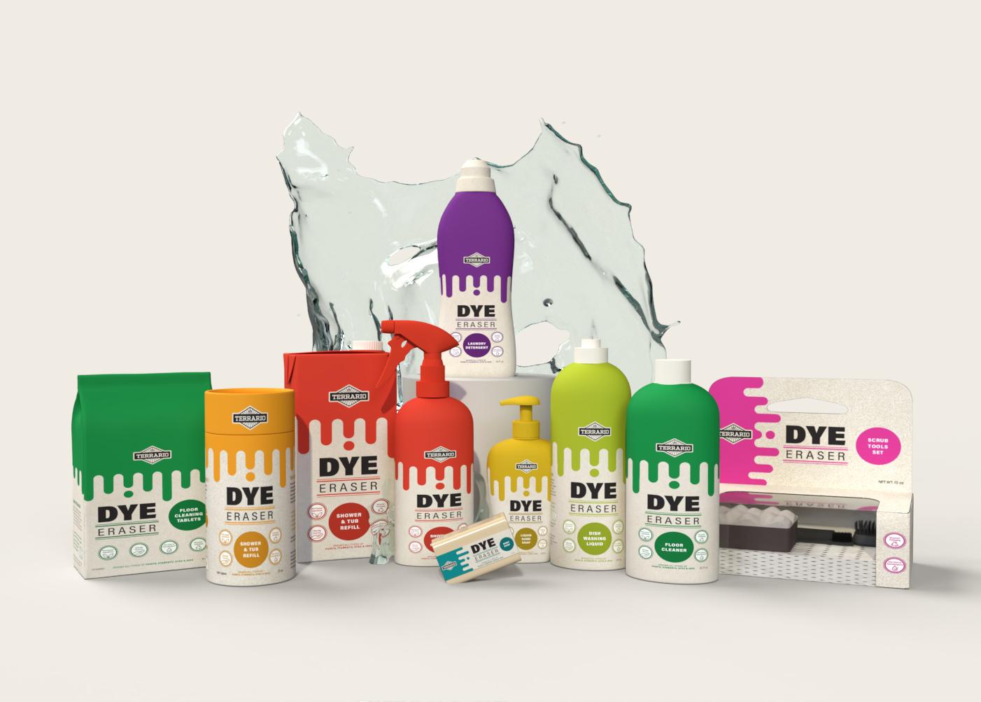 Dye Eraser Cleaning Line