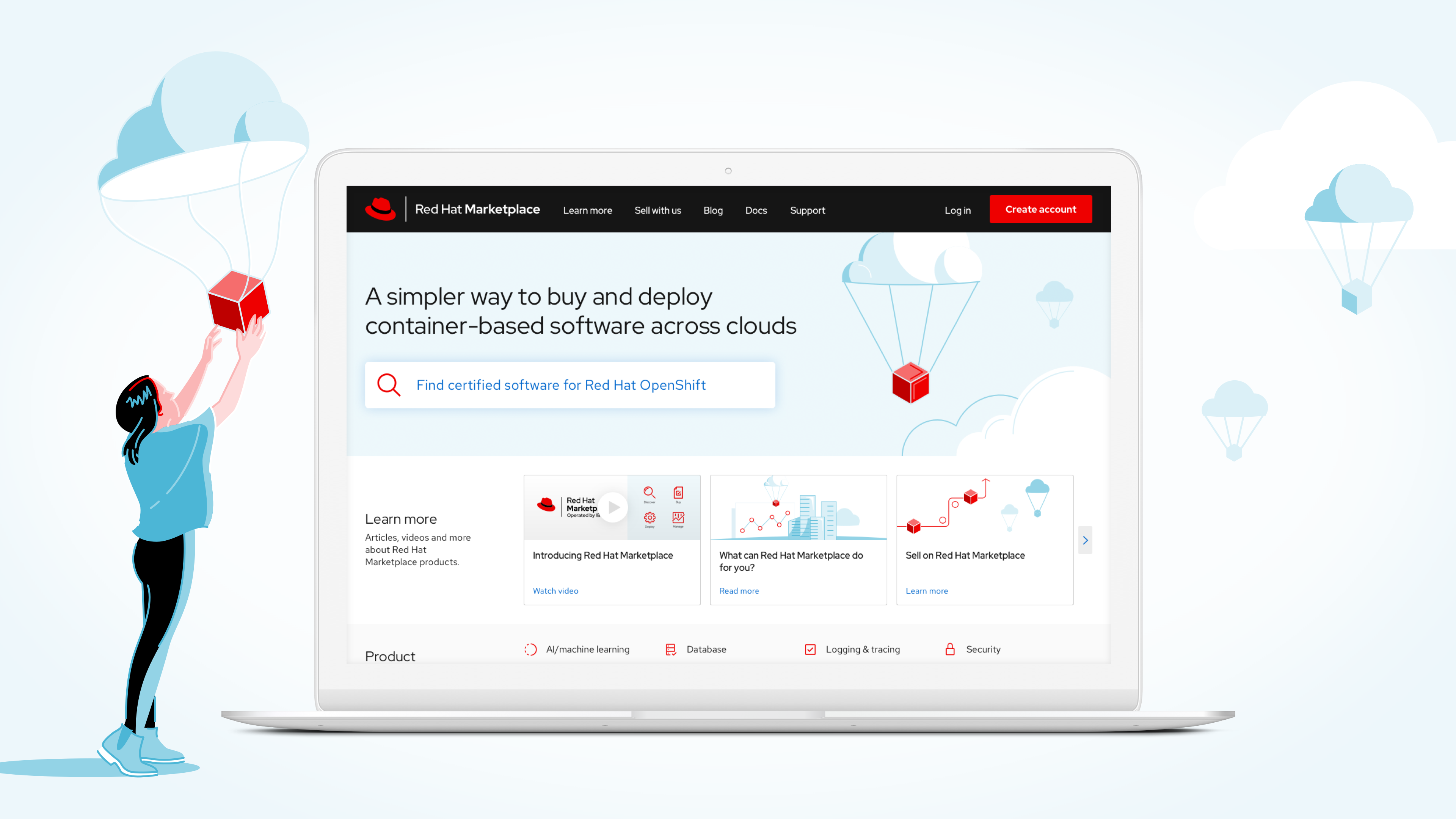 Red Hat Marketplace, Operated by IBM