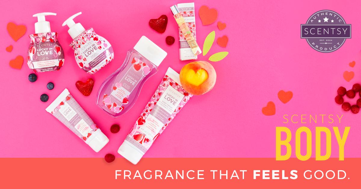 Scentsy Body: Fragrance that feels good.