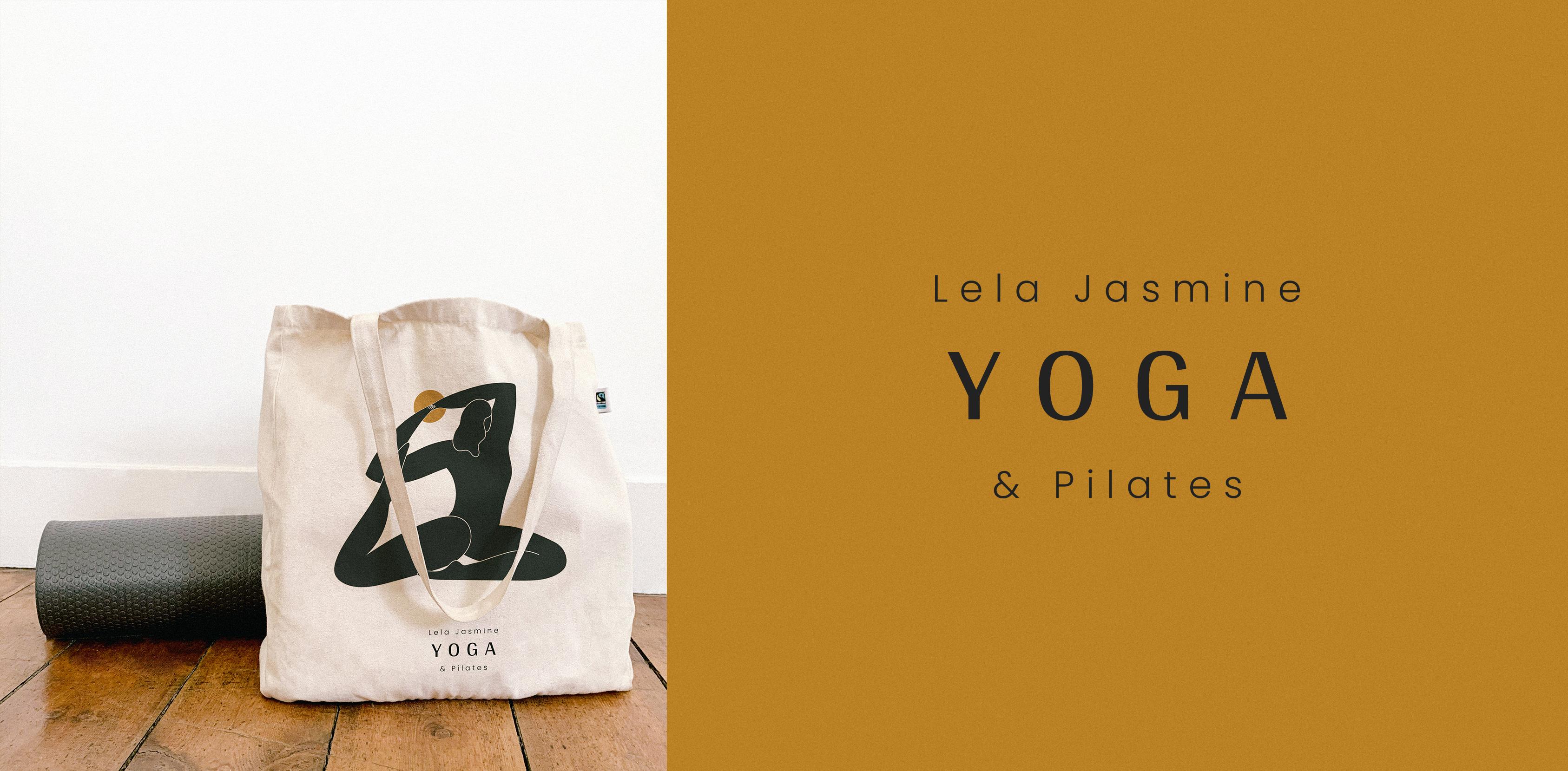 Branding for a yoga & pilates teacher