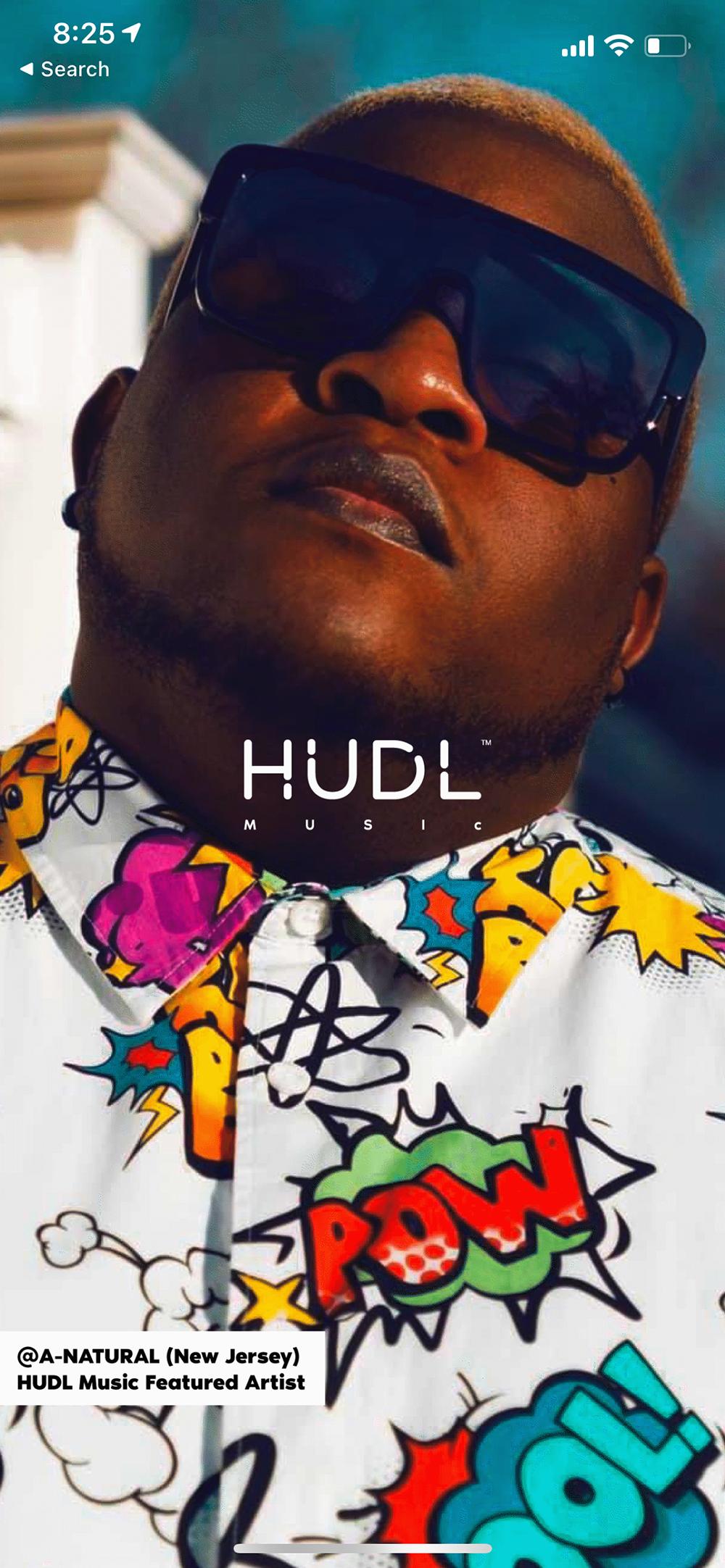 HUDL Music iPhone App