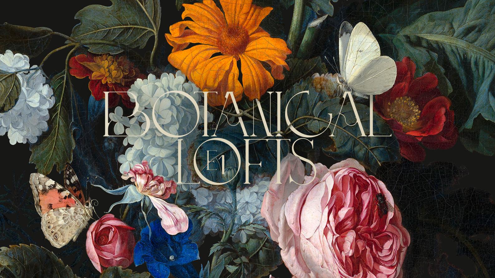 Branding for Botanical Lofts, London E1