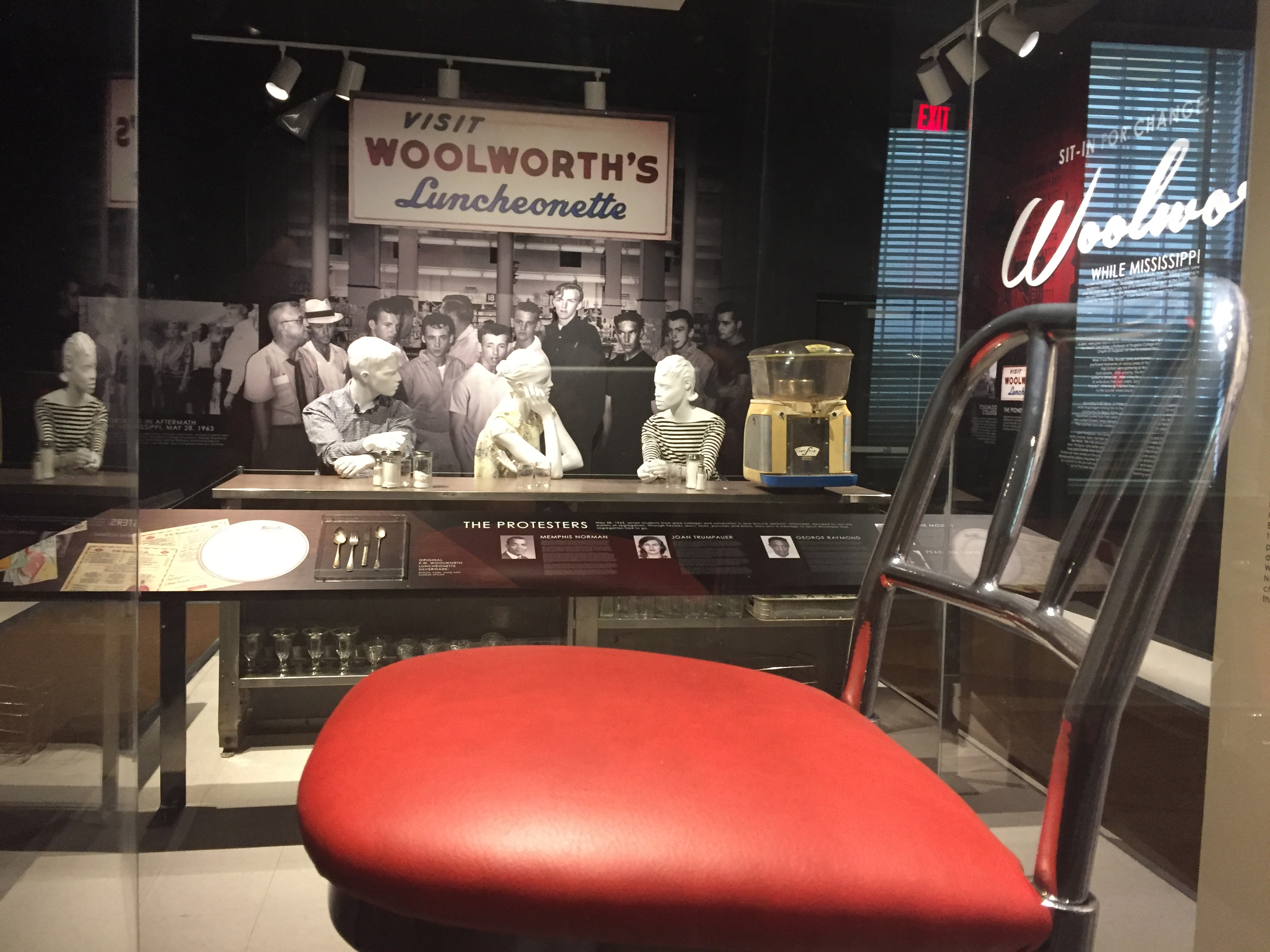 Sit-In for Change: Woolworth 1963 Permanent Exhibit Installation
