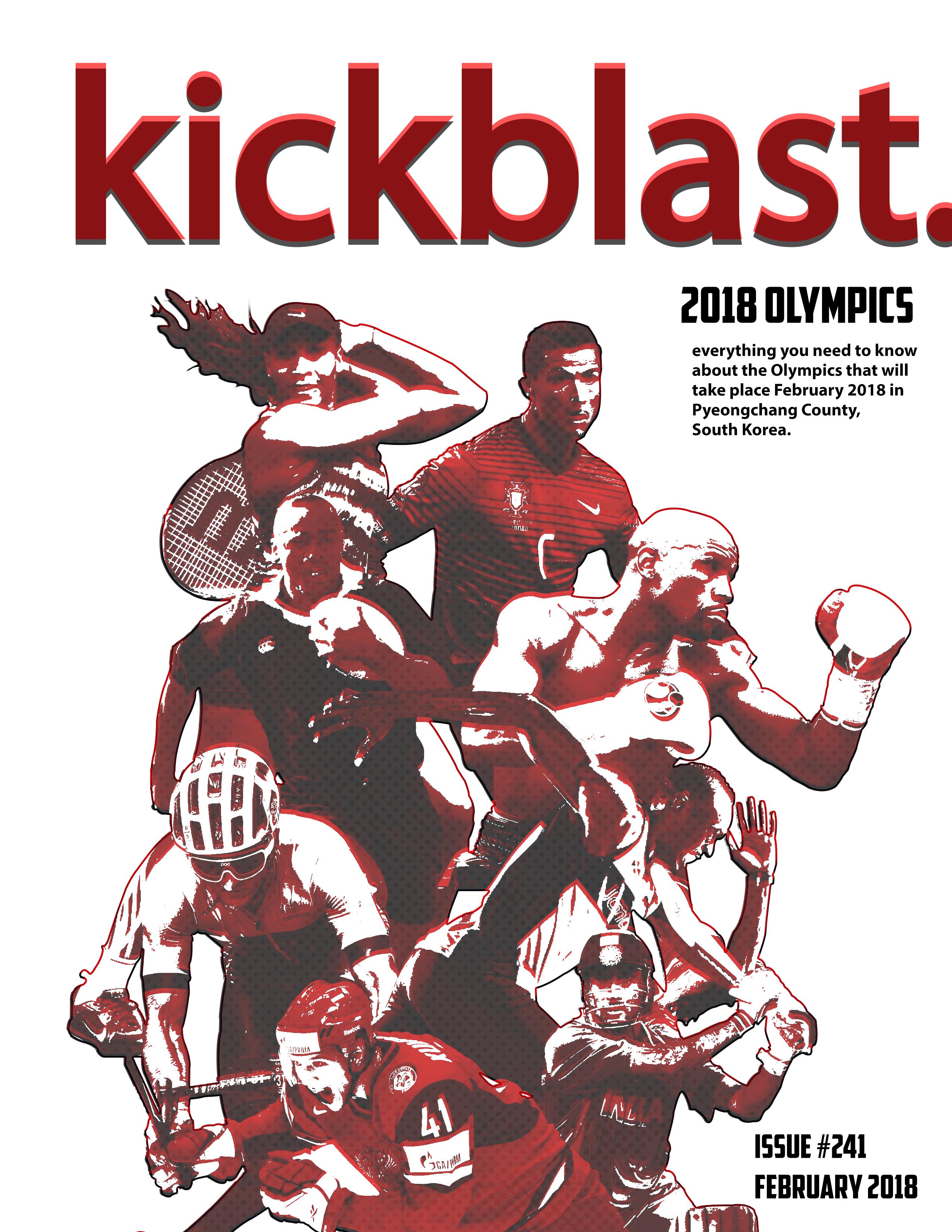 KickBlast Magazine Cover and Layout