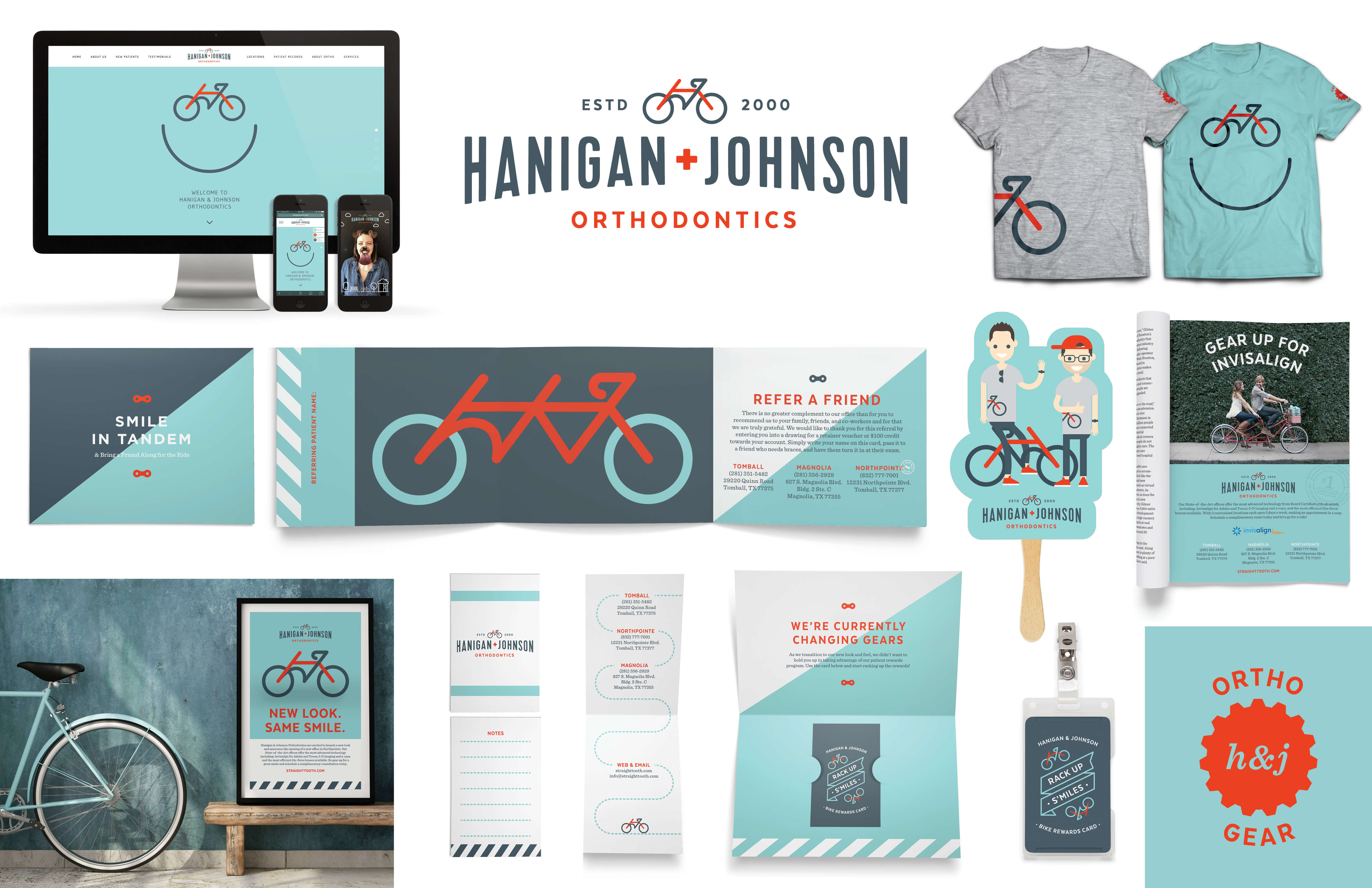 Hanigan & Johnson Brand Identity