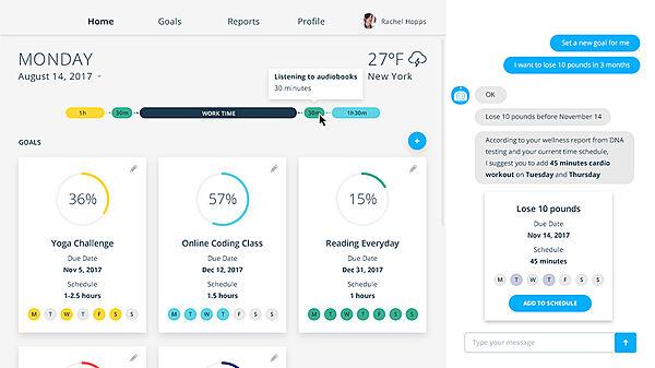 AI-powered Self-improvement Platform