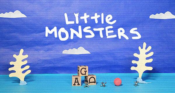 "Nick "" Little Monsters"" Branding Package"