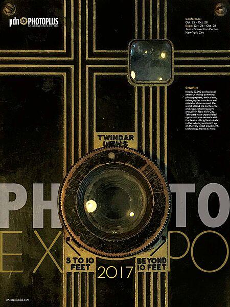 PDN PhotoPLUS Expo 2017 Poster