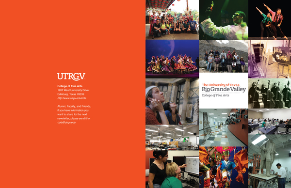 UTRGV CFA 2017 Newsletter