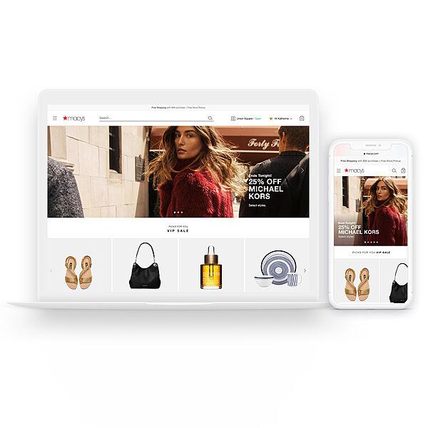 Macy's Website Redesign