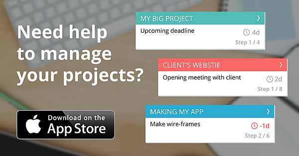 Tool for freelancers/students to manage projects deadlines