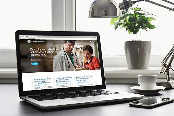 GE Healthcare Website Redesign