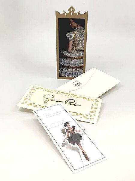 Guo Pei Invitation Card Design