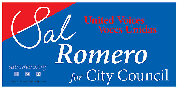 Sal Romero for City Council: United Voices