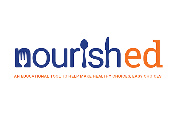 nourished: an educational tool to help make the healthy choice, the easy choice!