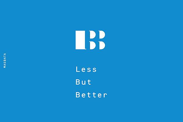 LBB Less But Better
